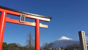 2017年1月3日の富士山の写真