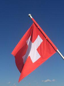 スイスの国旗の写真