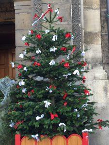 サン=ジェルマン=デ=プレ教会のツリーの写真
