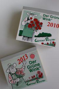 ドイツ・BRUNNEN(ブルンネン)社のガーデン日めくりカレンダー