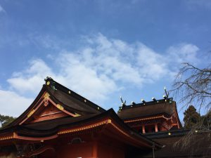 富士山本宮浅間大社の屋根