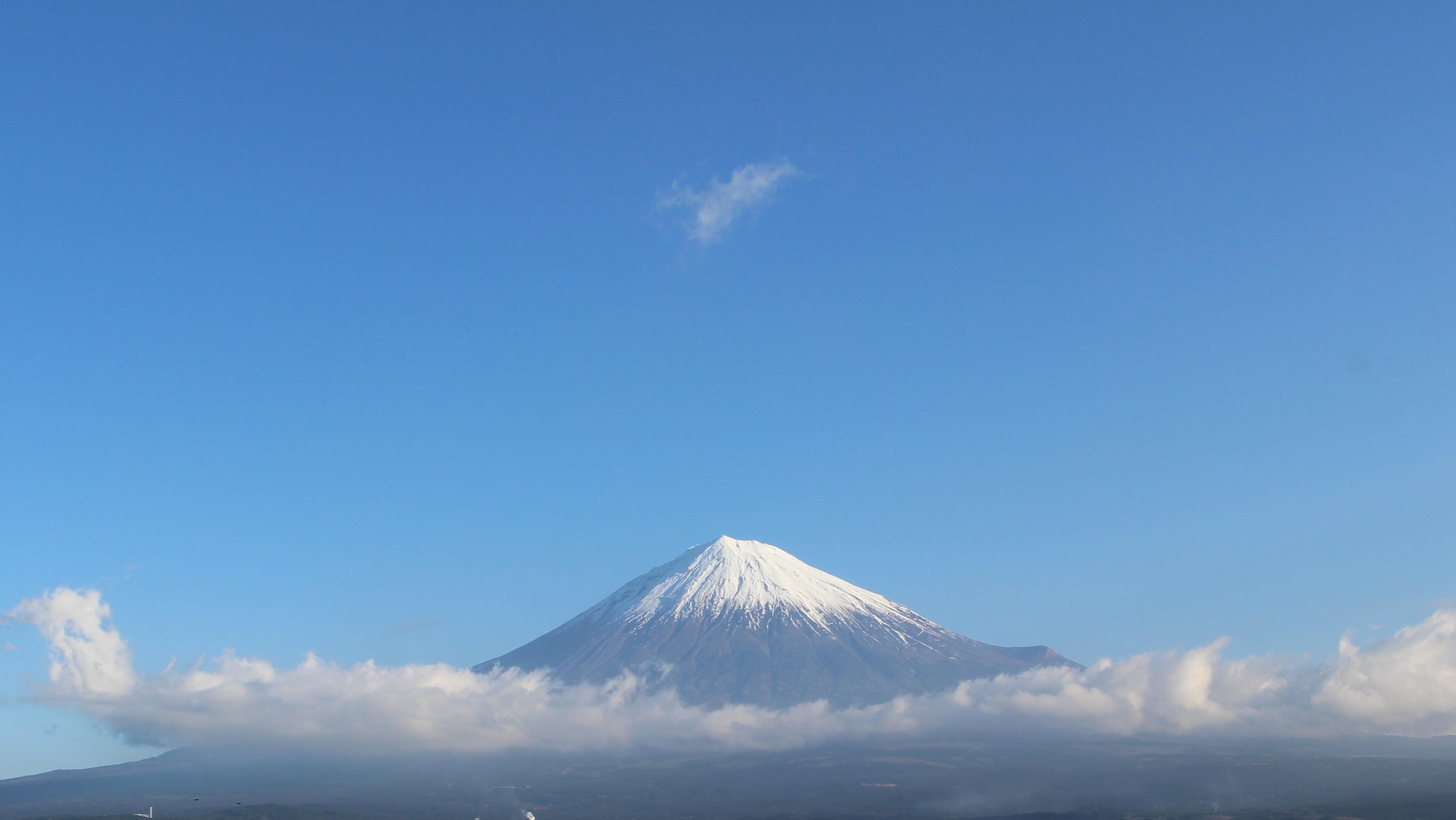 2017年1月5日の富士山の写真