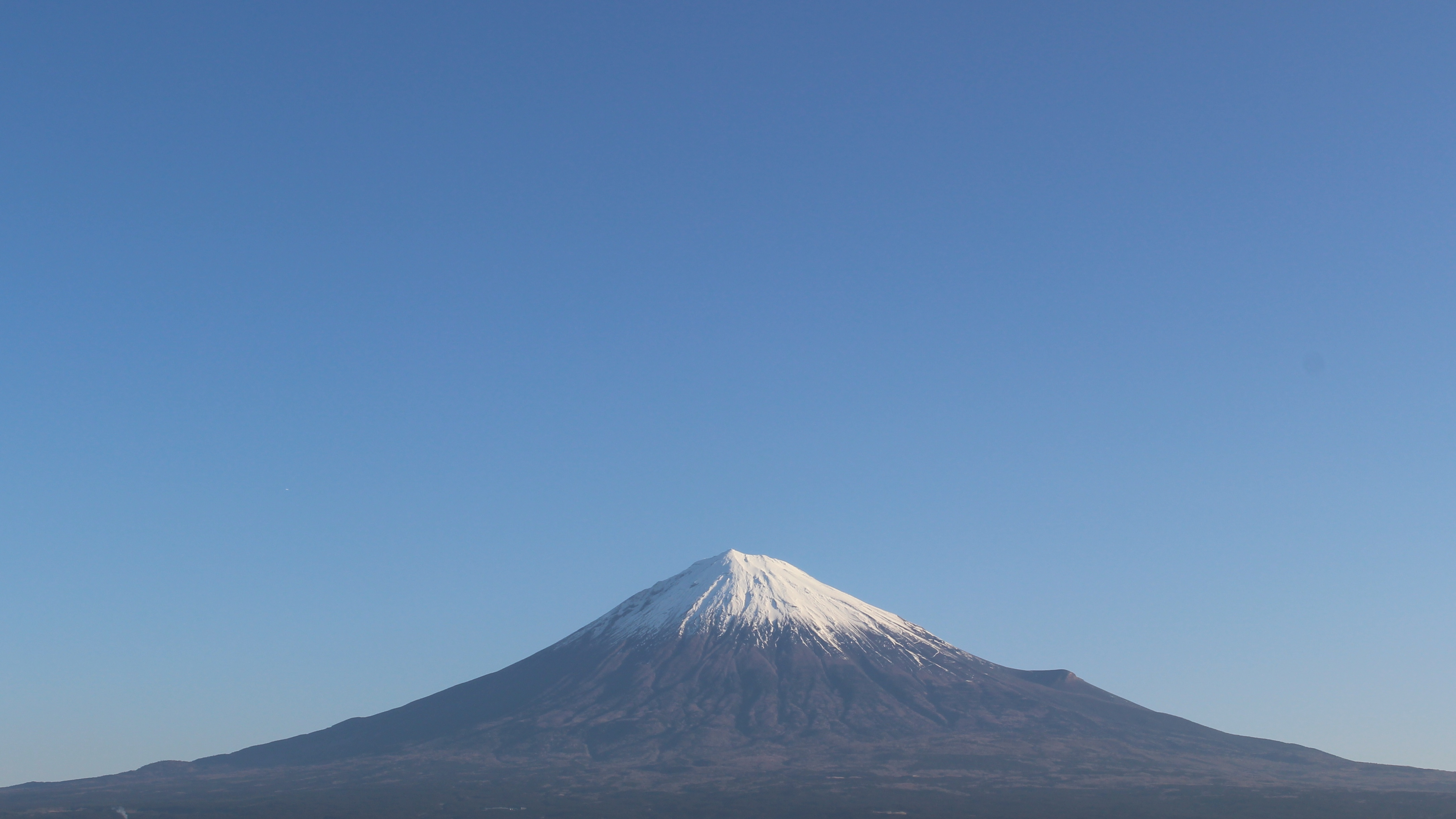 2017年1月7日の富士山の写真