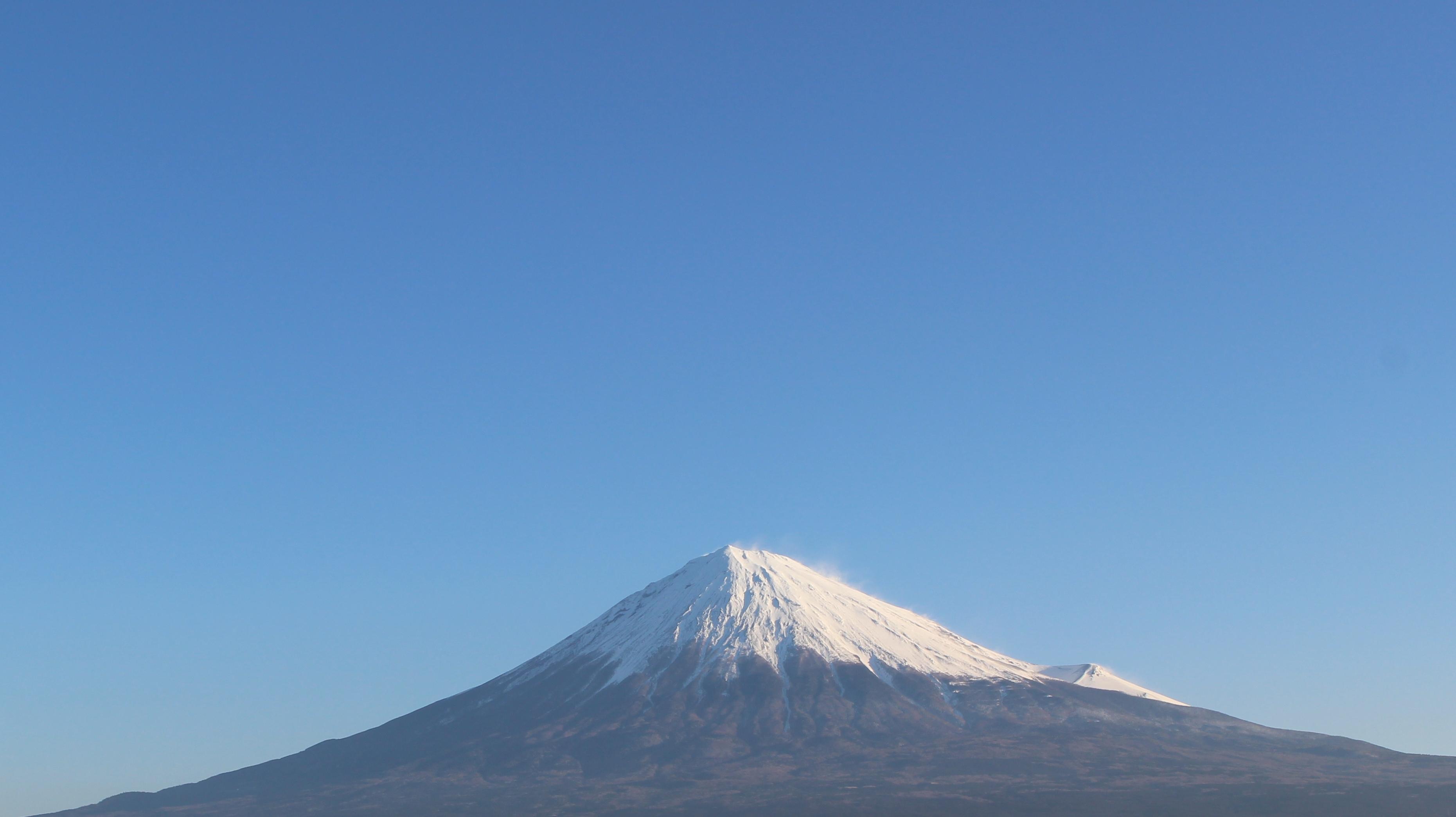 2017年1月10日の富士山の写真