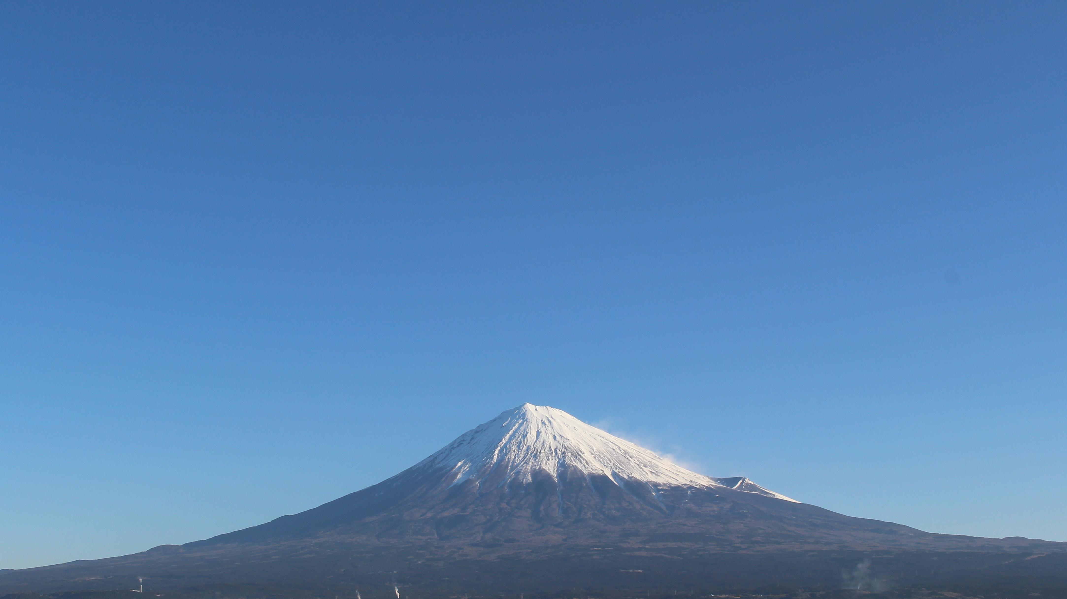 2017年1月11日の富士山の写真