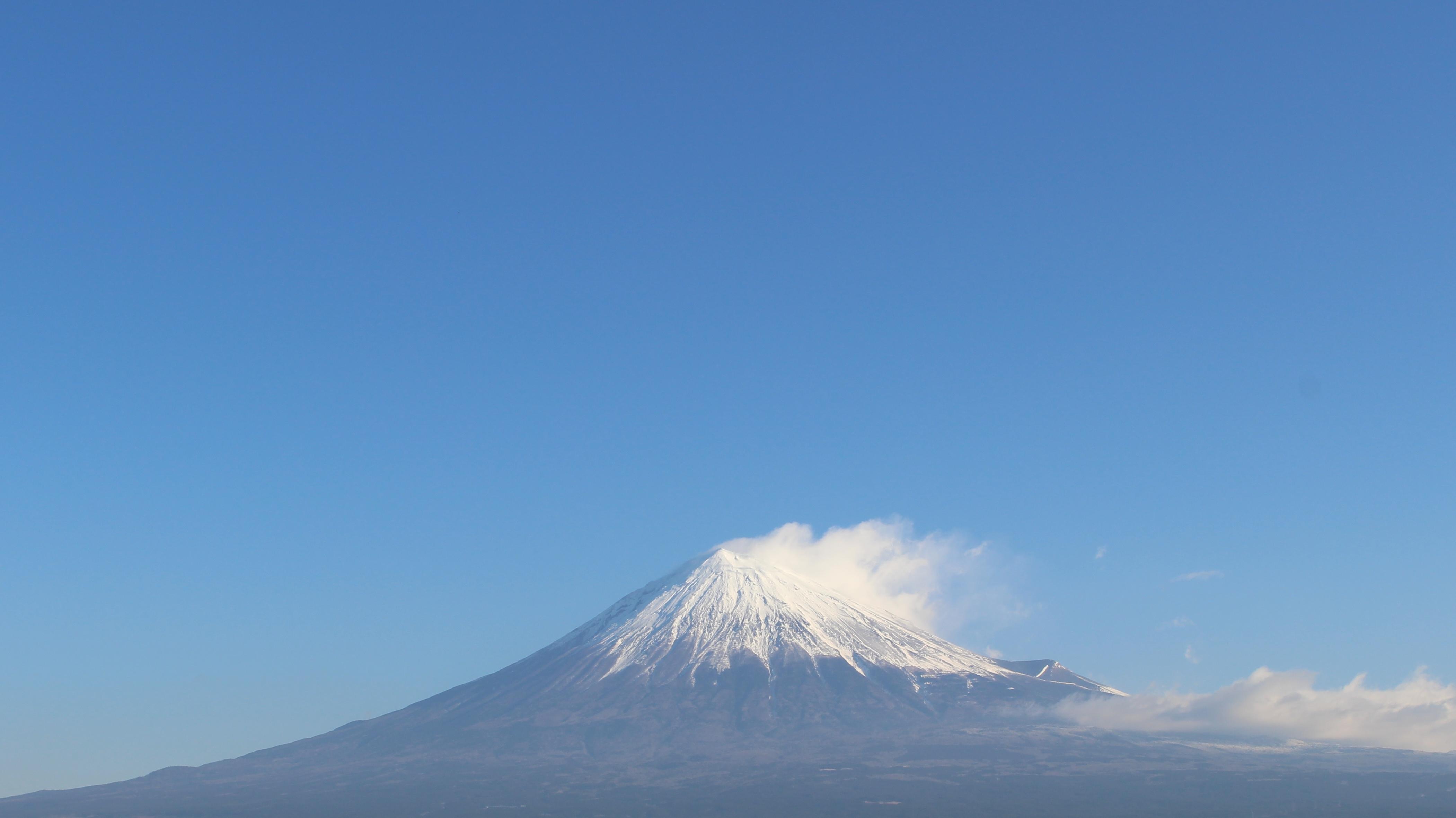 2017年1月13日の富士山の写真