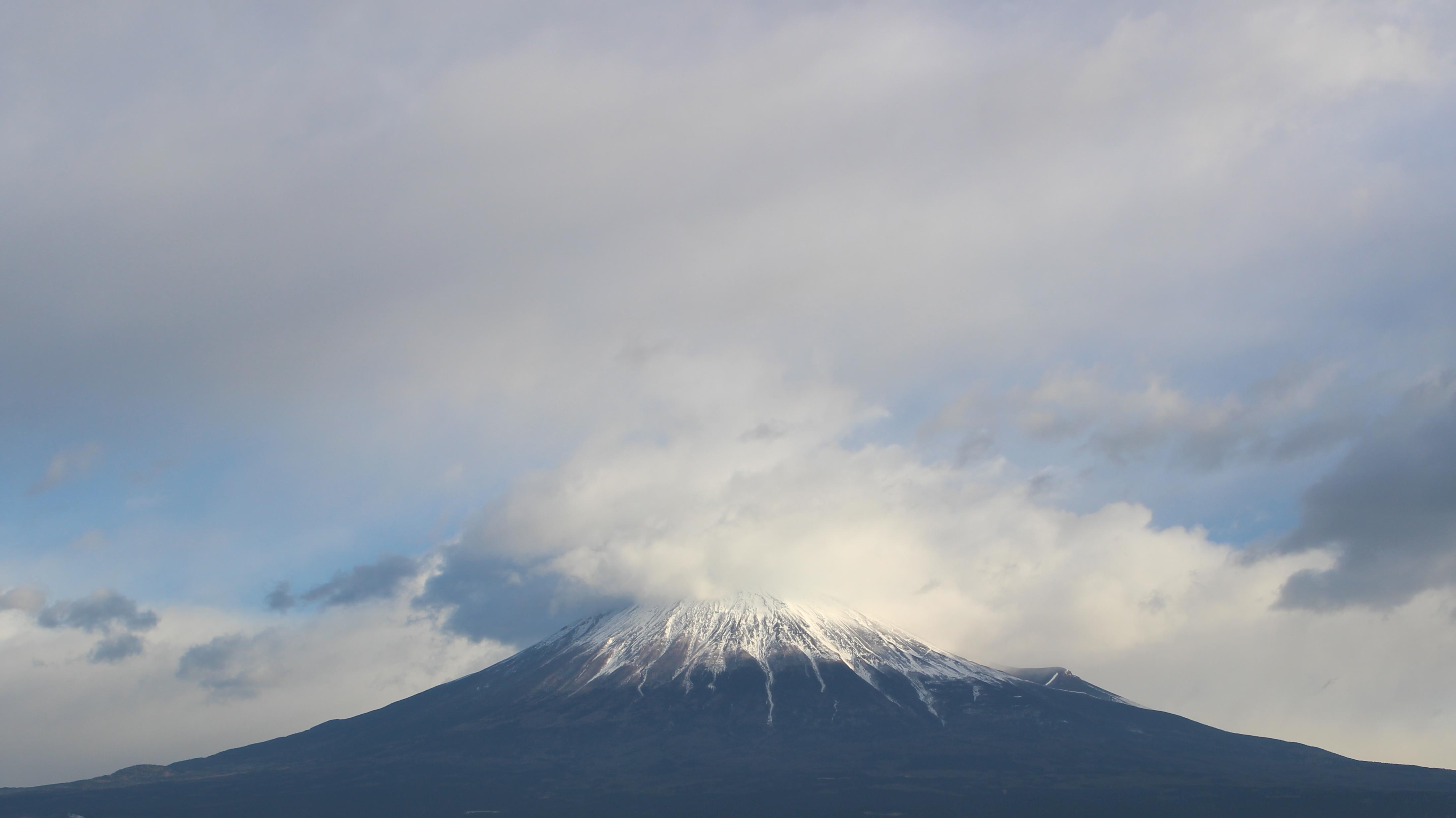 2017年1月14日の富士山の写真