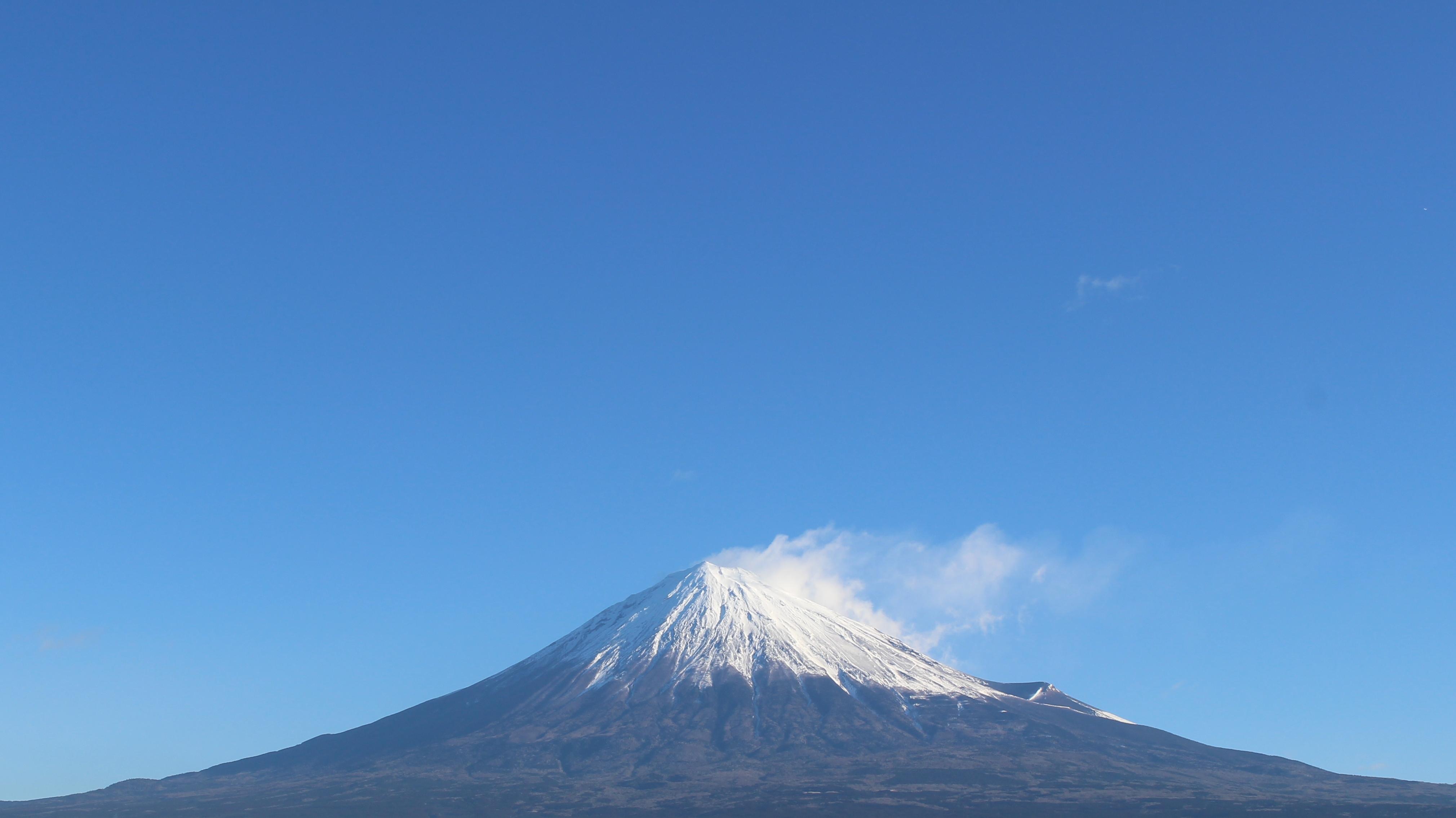 2017年1月16日の富士山の写真