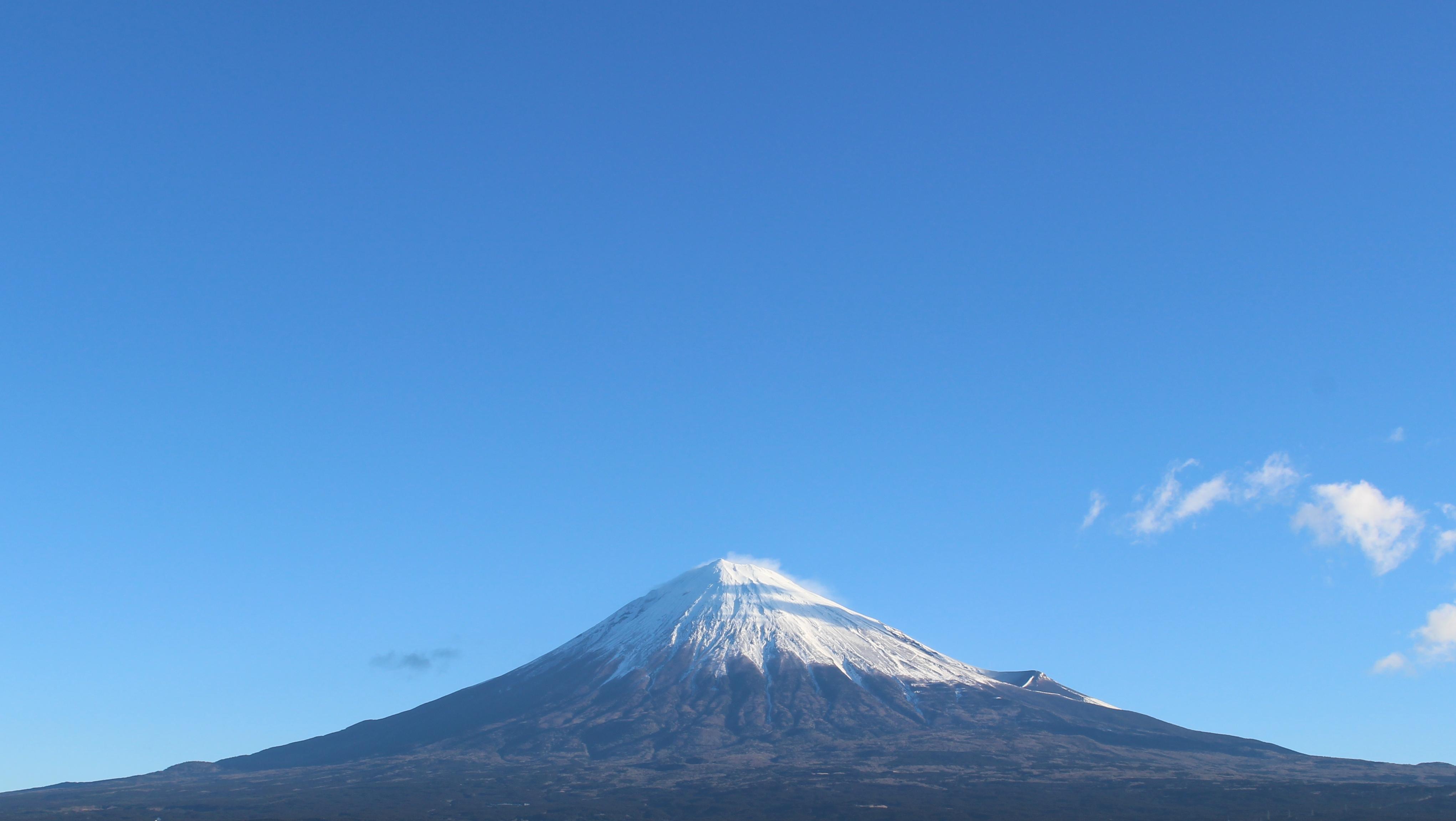 2017年1月17日の富士山の写真