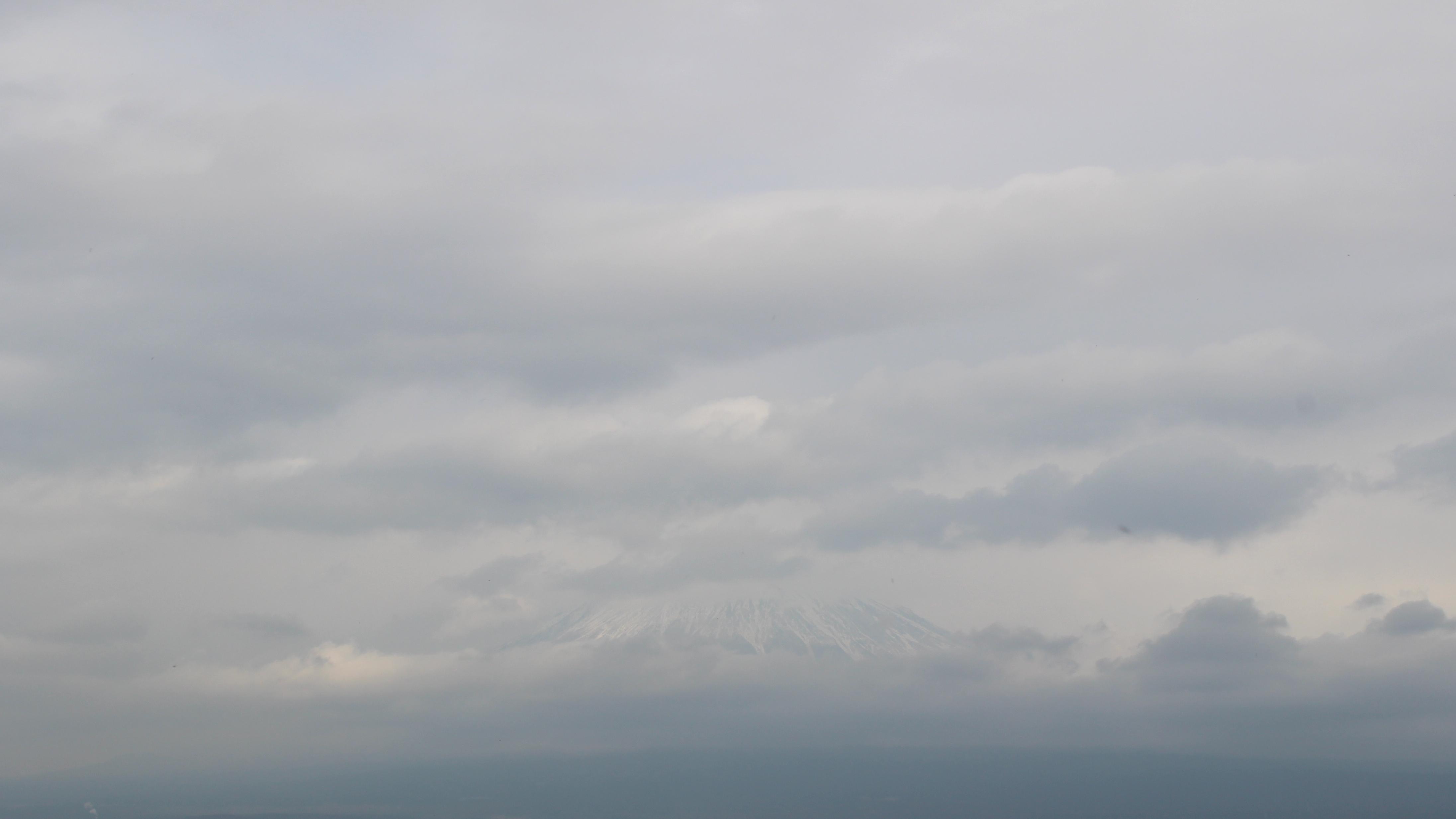 2017年1月20日の富士山の写真