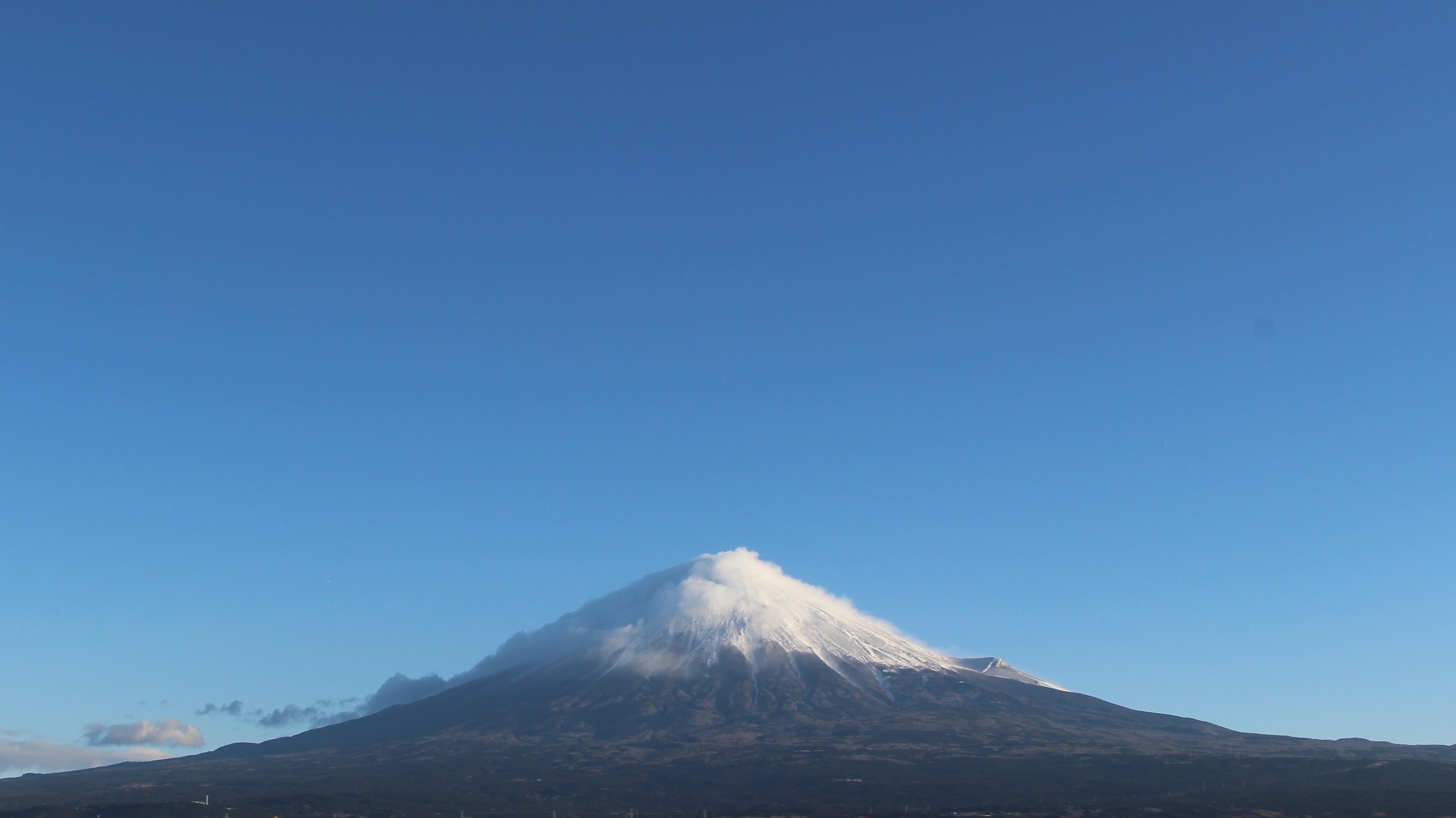 2017年1月21日の富士山の写真