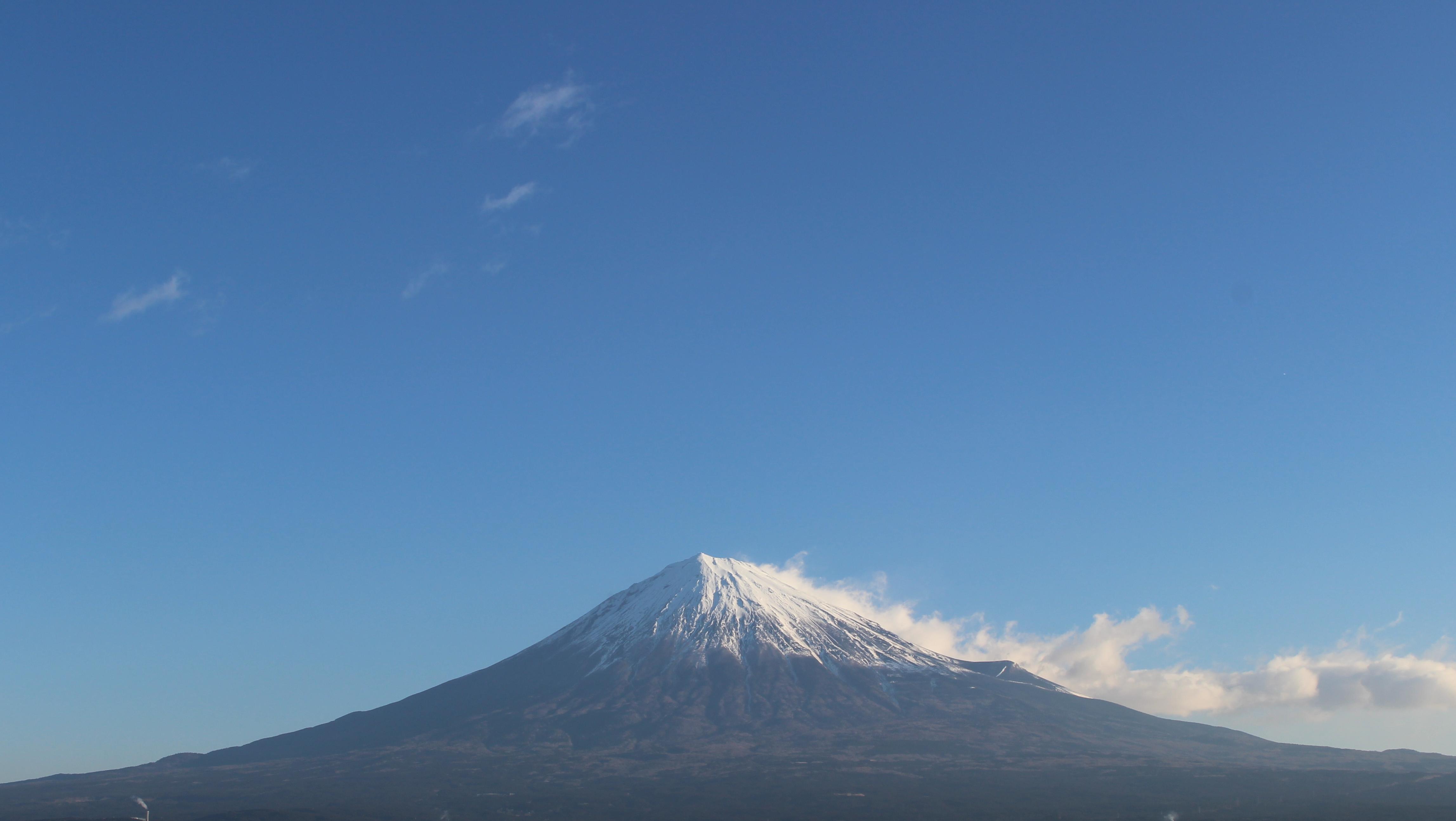 2017年1月23日の富士山の写真