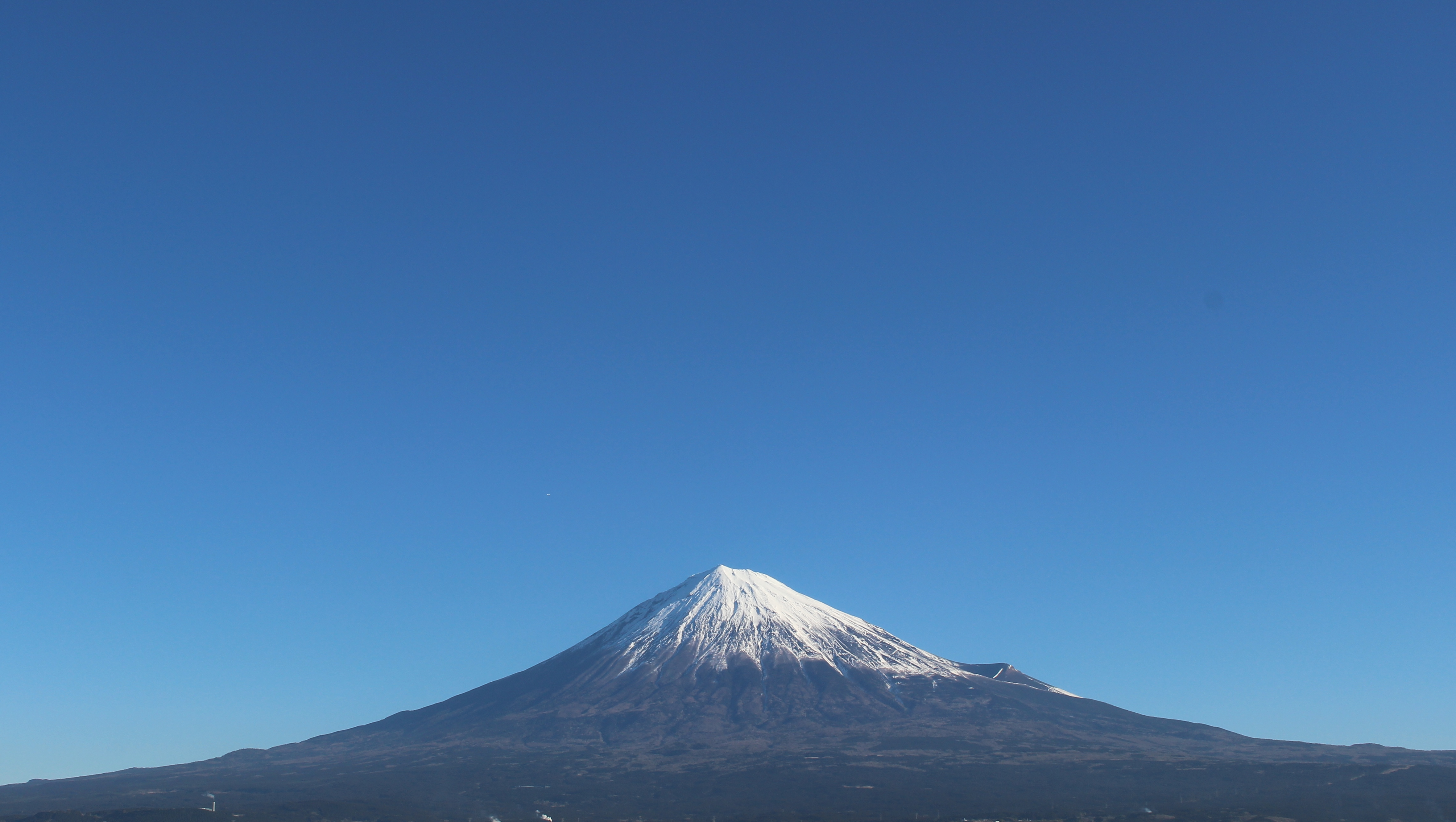 2017年1月24日の富士山の写真