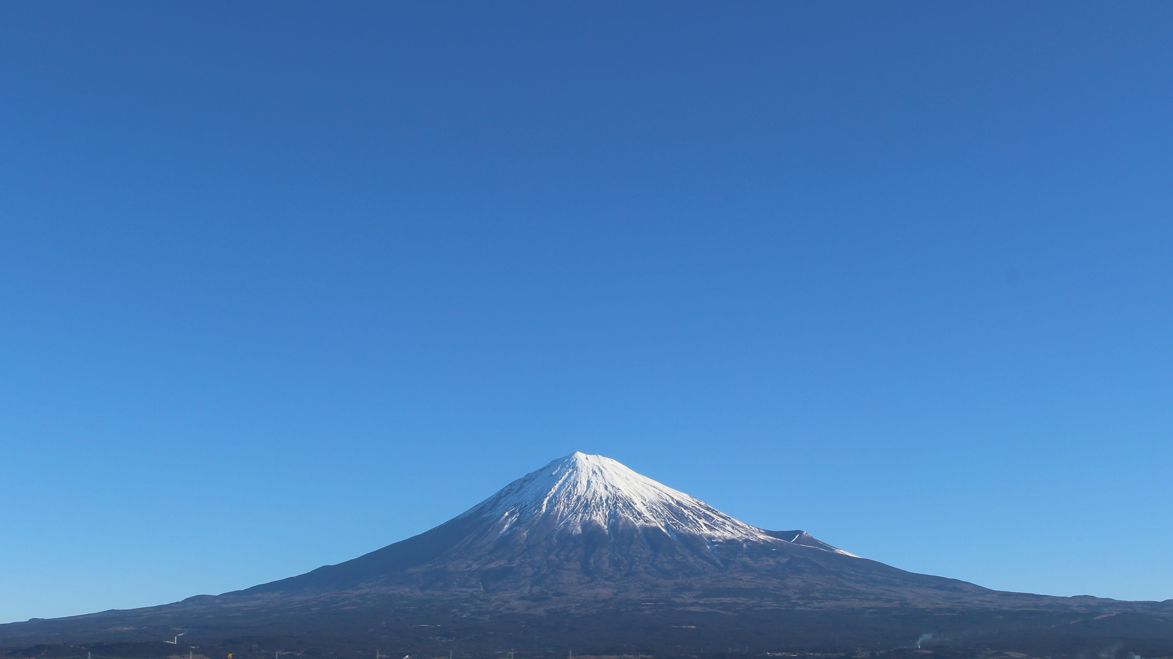 2017年1月25日の富士山の写真