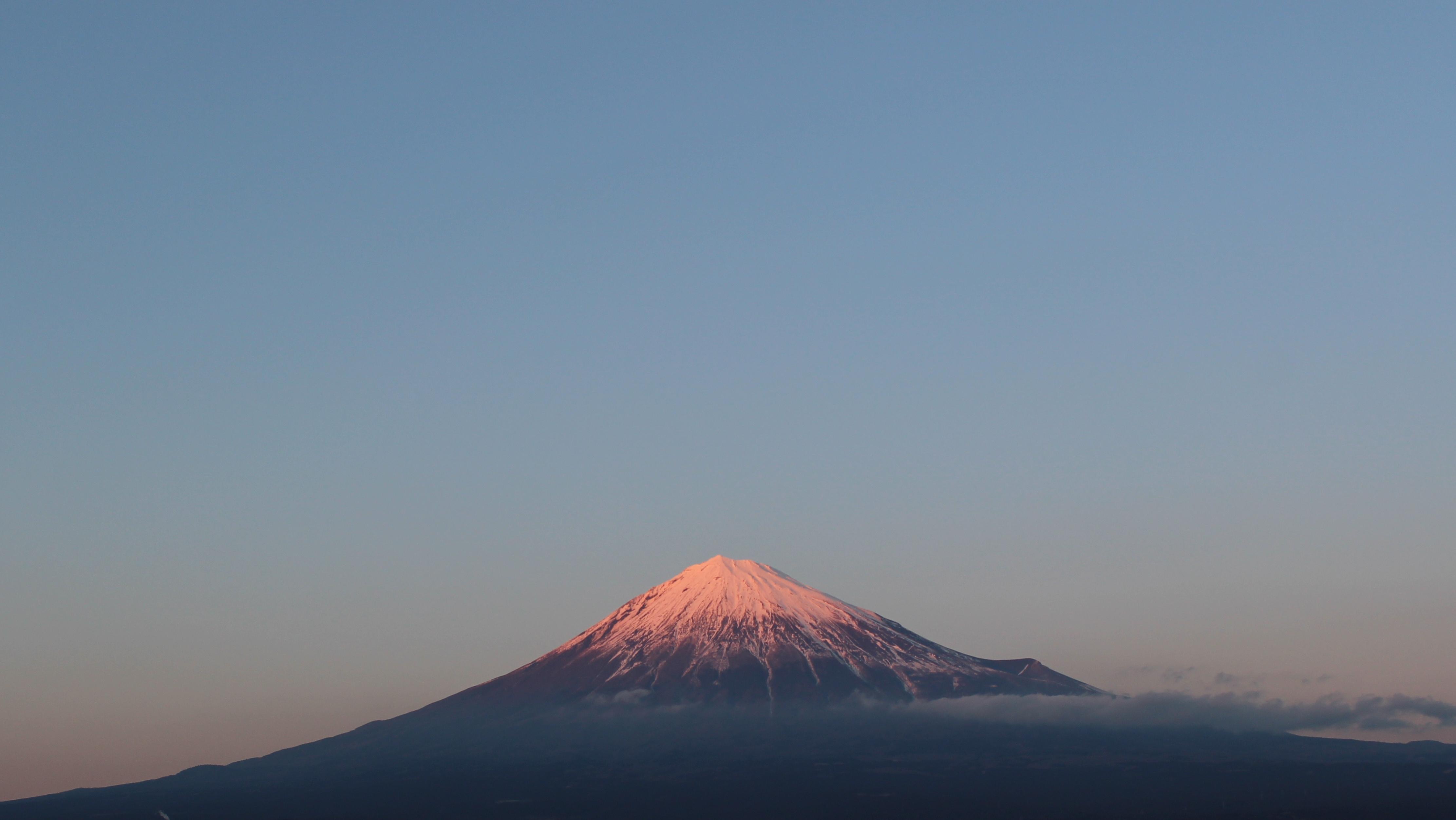 2017年1月26日の富士山の写真