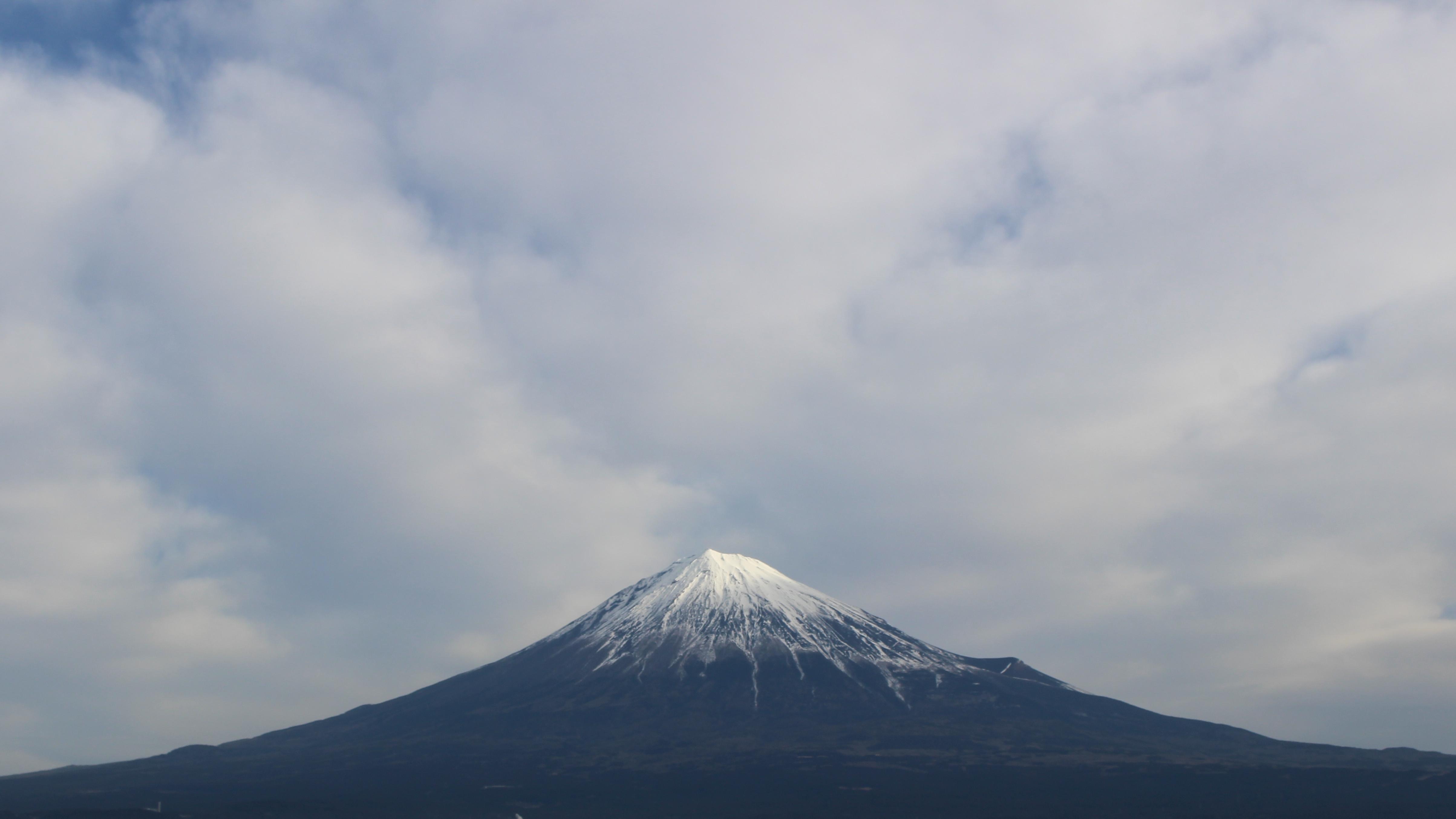 2017年1月27日の富士山の写真