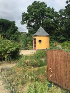 パリ植物園の道具小屋の写真
