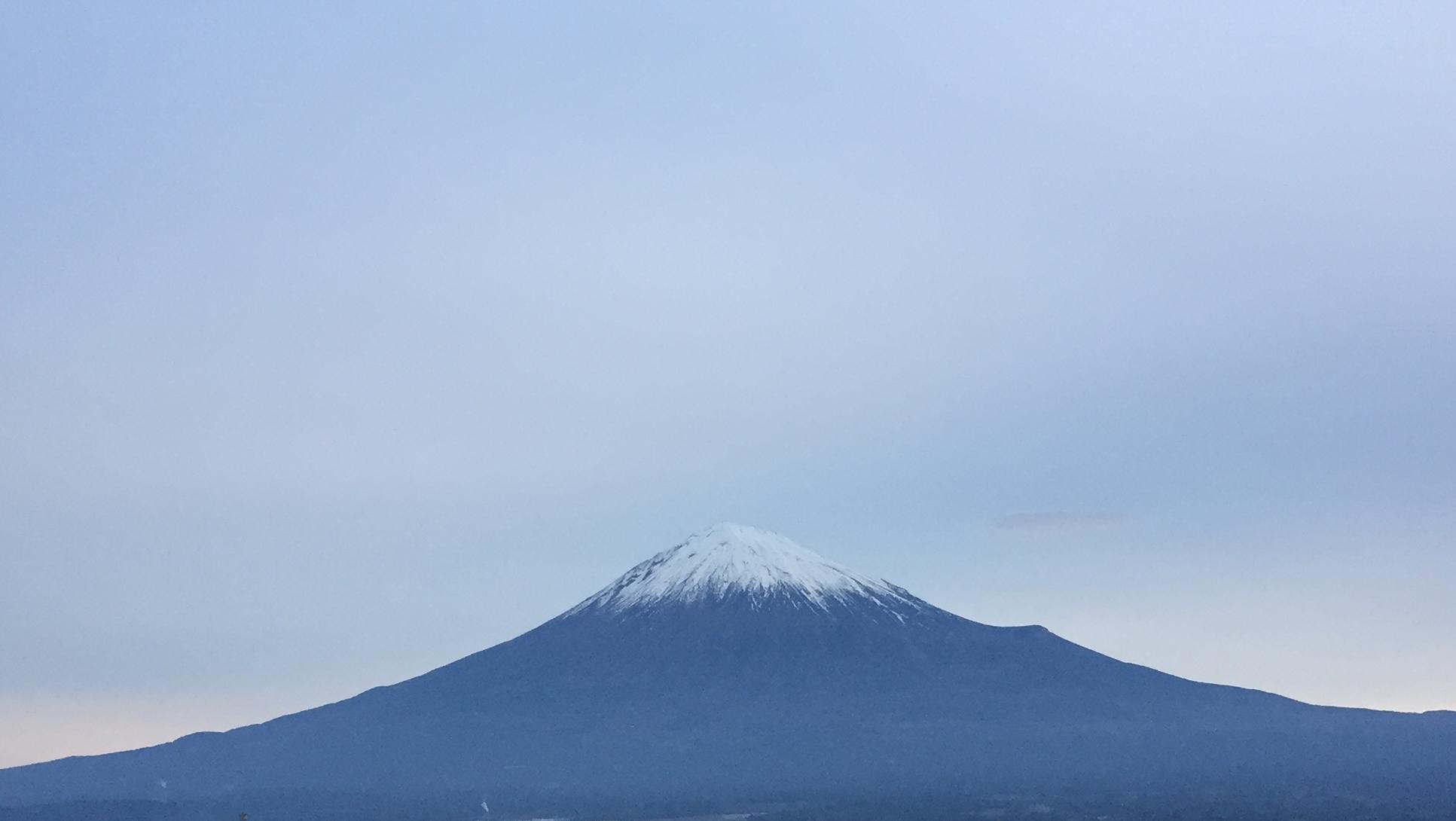 2017年1月8日の富士山の写真