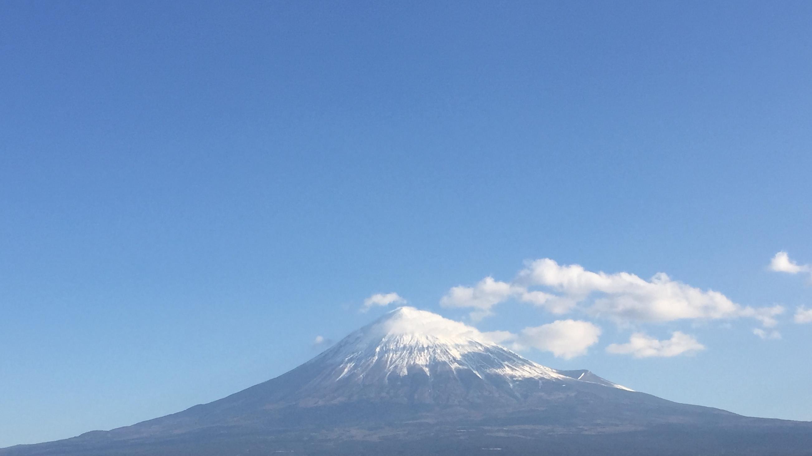 2017年1月22日の富士山の写真
