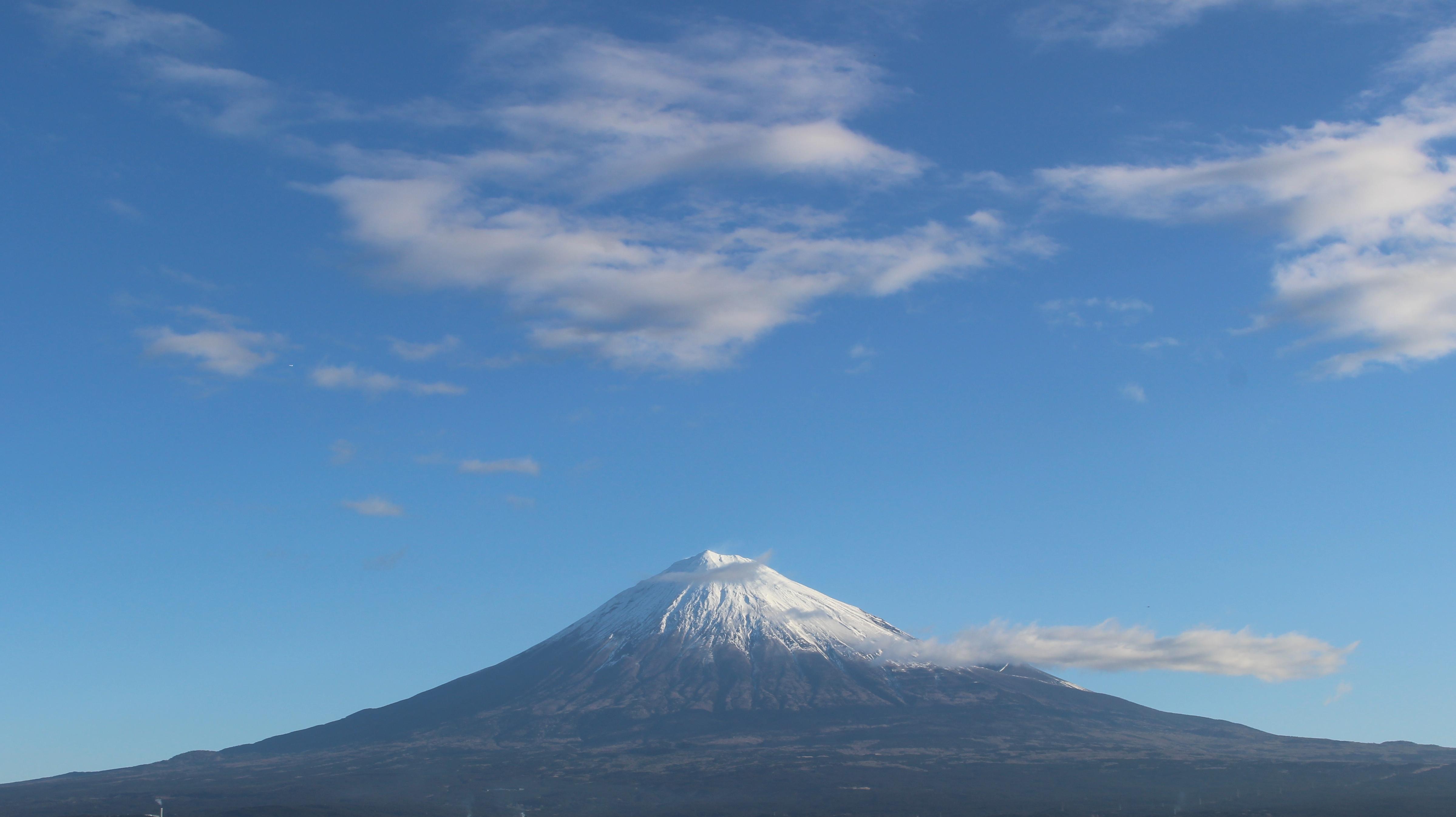 2017年1月31日の富士山の写真