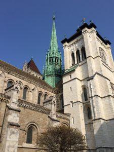 ジュネーブのサン・ピエール大聖堂の写真