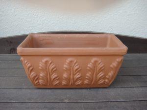テラコッタ鉢の写真