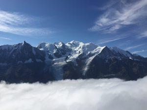 ブレヴァン(Brevent)展望台から見たモンブラン(Mont Blanc)の写真