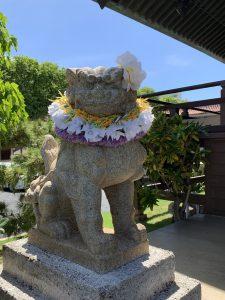 ハワイ出雲大社の狛犬